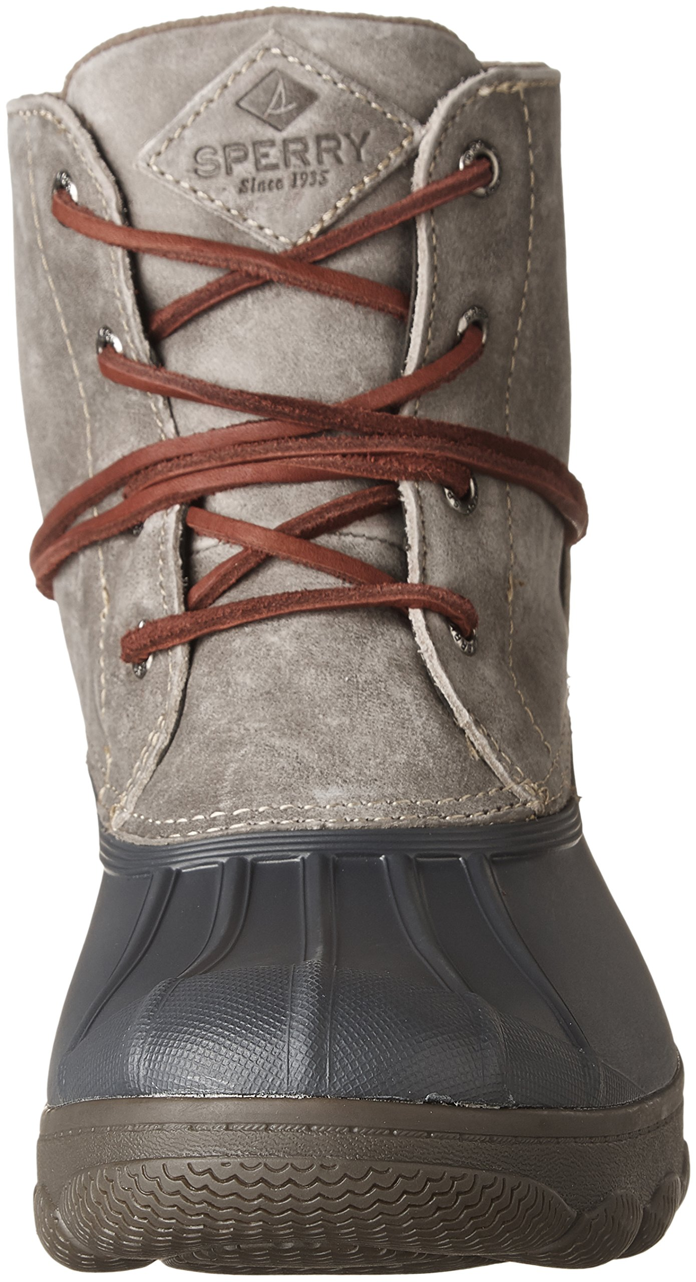 Sperry Top-Sider Women's Saltwater Wedge Tide Rain Boot, Grey, 8 Medium US by Sperry Top-Sider (Image #4)