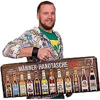 Männerhandtasche XXL (12 x 0,33l. Flaschen Bier von Privatbrauereien und einem Informationsheft zu Bier))