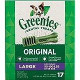 GREENIES Original Large Dog Natural Dental Treats (50 -100 lb. dogs)
