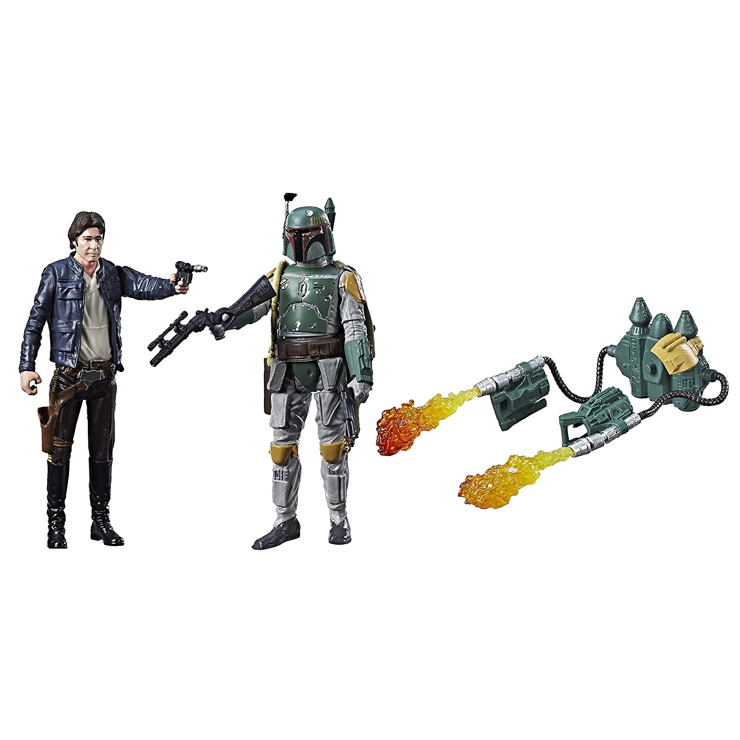 Star Wars C1244 Sw E4 Han Solo and E5 Boba Fett Hasbro