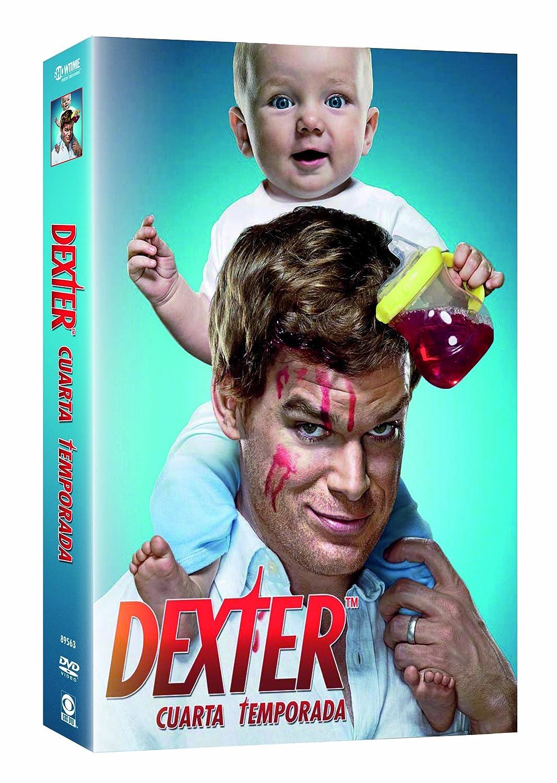 Dexter Cuarta Temporada Import Dvd 2011 Michael C. Hall; Julie Benz ...