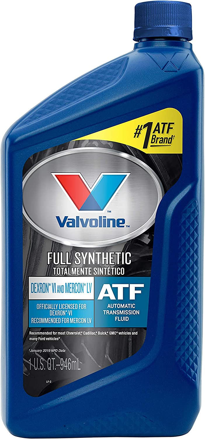 Valvoline DEXRON VI/MERCON LV (ATF) Full Synthetic Automatic Transmission Fluid 1 QT