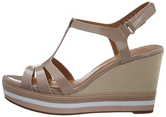 e2bda35b4c3 Clarks Women s Zia Wave Beige (Fit D) Fashion Sandals - 9.5 UK  Buy Online  at Low Prices in India - Amazon.in