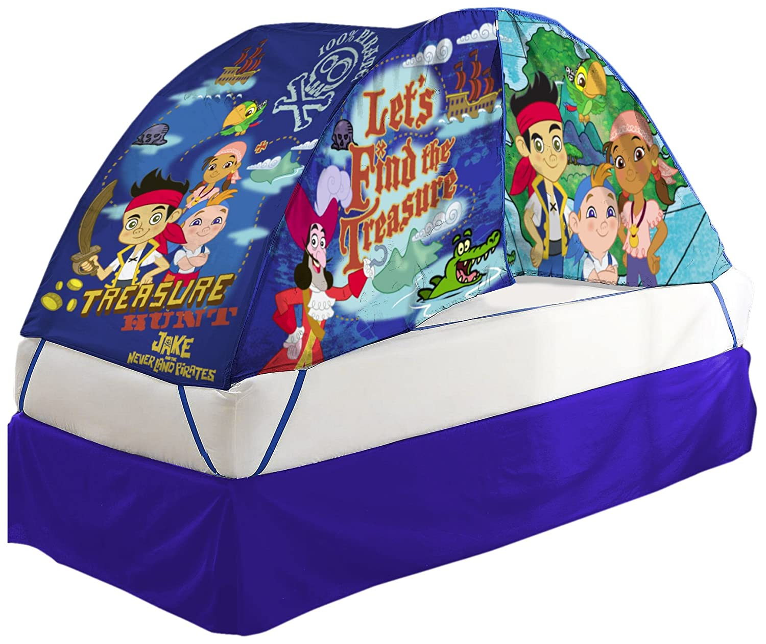 Amazon.com Disney Jake and The Pirates Bed Tent with Pushlight Assortment Toys u0026 Games  sc 1 st  Amazon.com & Amazon.com: Disney Jake and The Pirates Bed Tent with Pushlight ...