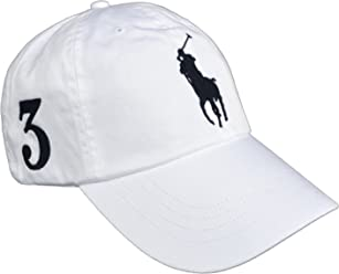 5e58d7b05c77a6 Ralph Lauren Polo Cap Big Pony Sports White