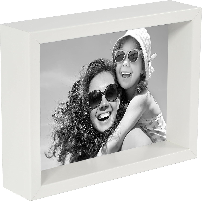 Ray & Chow Holz 3D Quadratisch Box Bilderrahmen 20x20cm / 8x8 Zoll ...