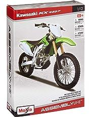 1: 12 Al Kawasaki KX 450F (Colors May Vary)