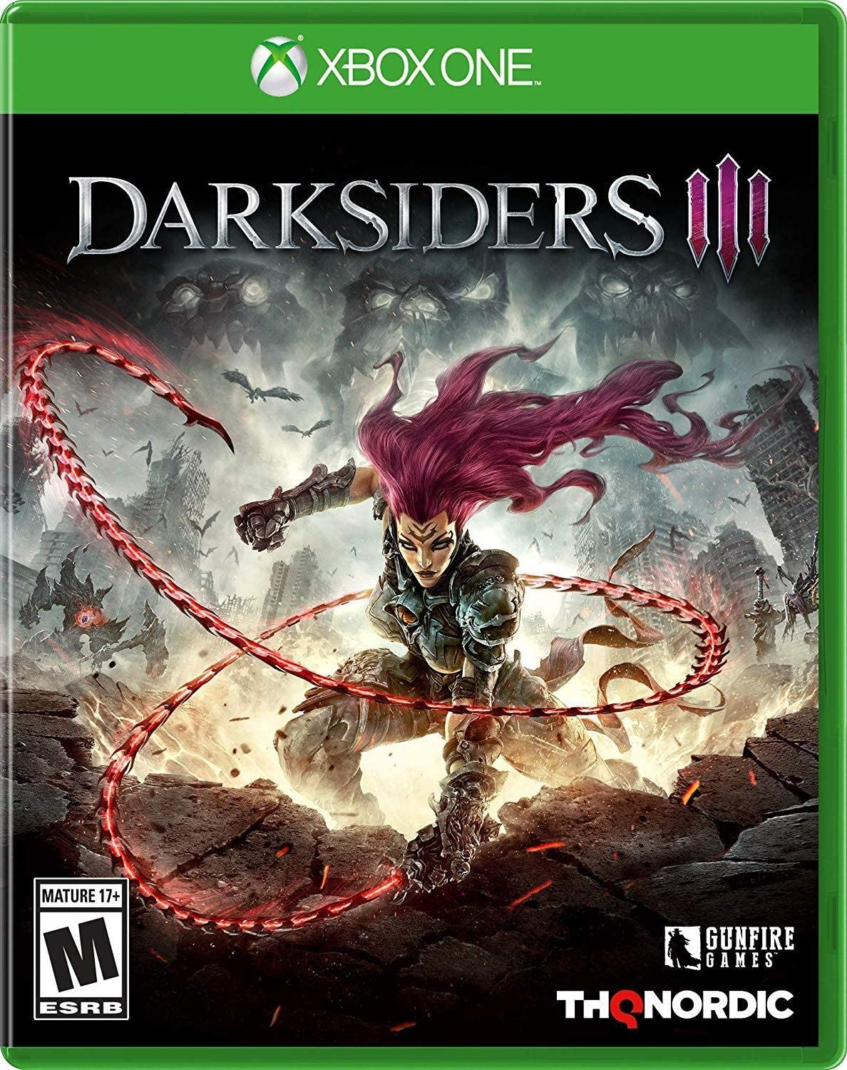 Amazon com: Darksiders III - Xbox One: Thq Nordic: Video Games