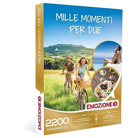 EMOZIONE3 - Cofanetto Regalo - MILLE MOMENTI PER 2 - 2200 attività ...
