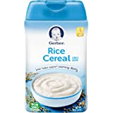 Gerber Baby Cereal, Rice, 8 Ounce