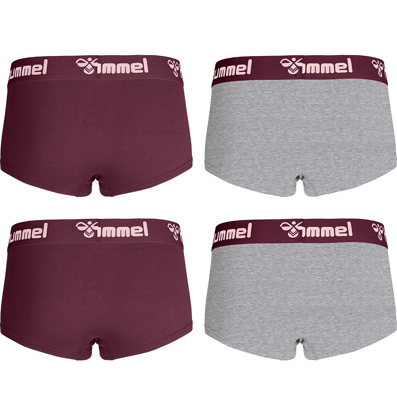 Hummel Damen Hotpants Hers 4er Pack Panties Mini-Boxershorts