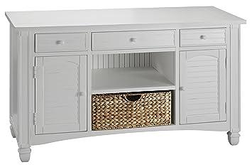Stein World Furniture Nantucket Sofa Table, Cottage White