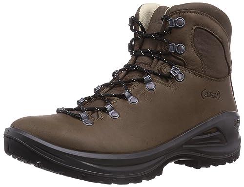 AKU TRIBUTE II LTR M'S - botas de senderismo de piel hombre, color marrón, talla 46,5