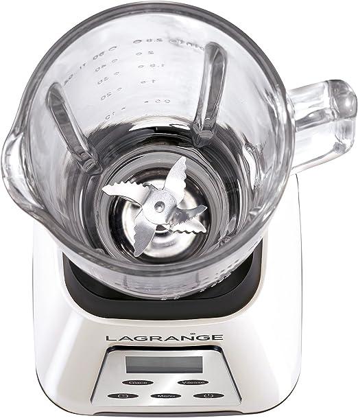 Lagrange 609004 - Batidora de vaso, color blanco: Amazon.es: Hogar