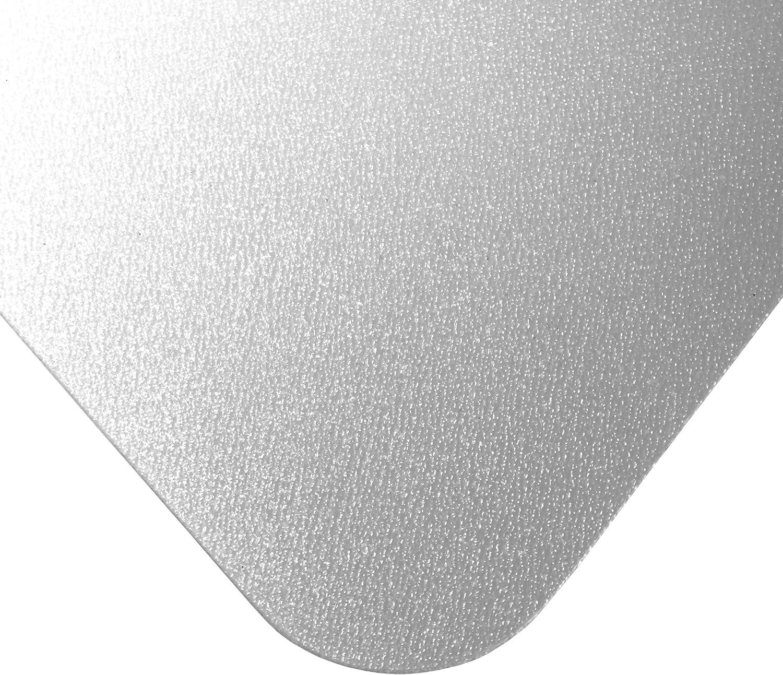 "Basics Vinyl Chair Mat Protector for Hard Floors 47"" x 35"" : Office Products"
