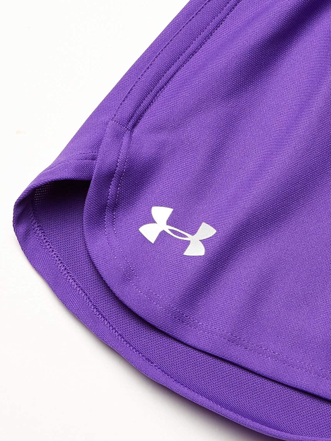 Under Armour Girls Play Up Solid Workout Gym Short Short