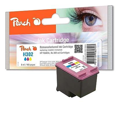 Peach cabezal de impresión Negro Compatible con HP, color ...
