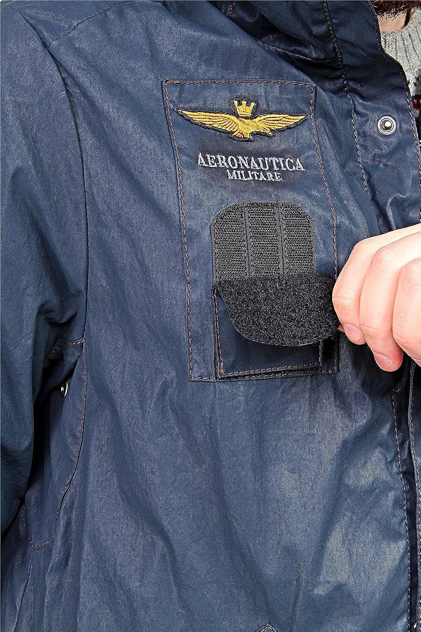 Aeronautica Militare - Chaqueta - para hombre azul oscuro 1 mes: Amazon.es: Ropa y accesorios
