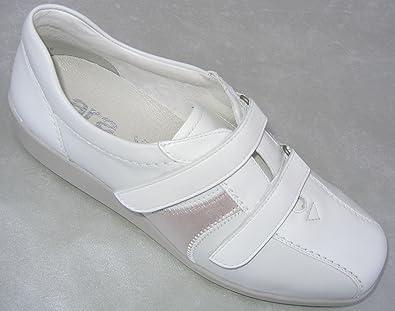 ARA 36327 Meran Damen Schuhe mit Klettverschluß, Leder