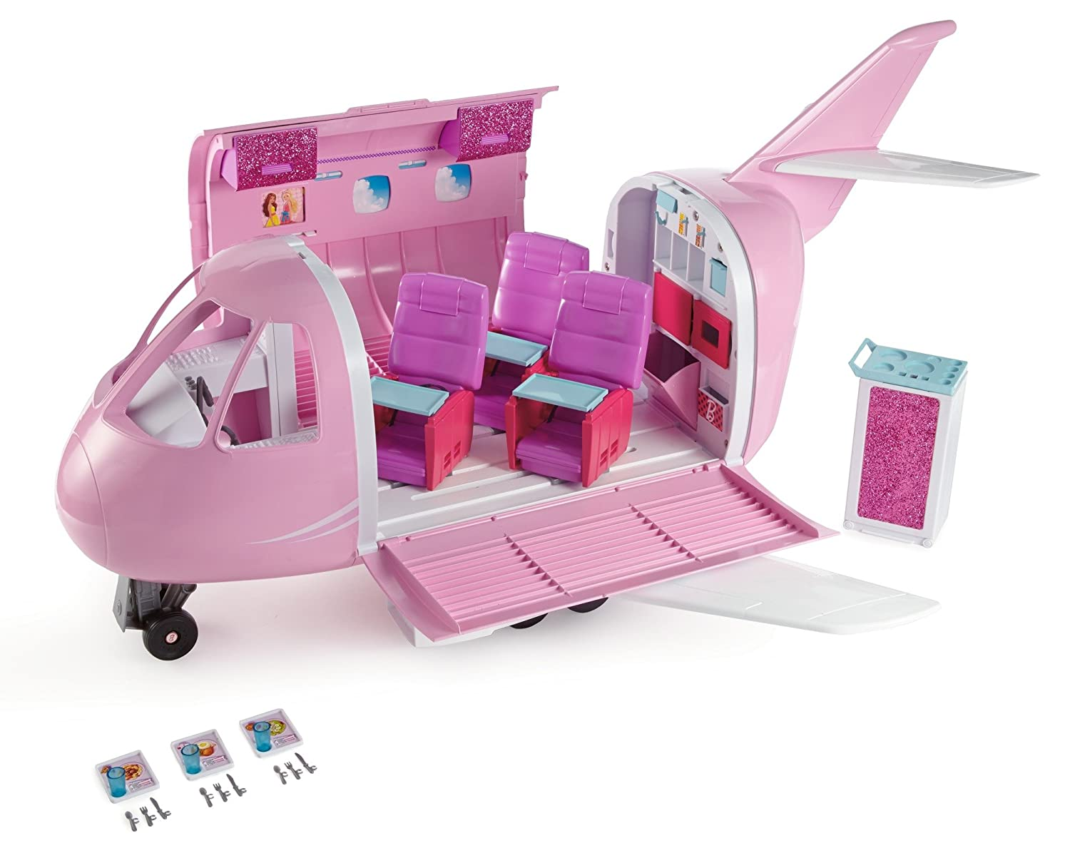 913d0e4135f Amazon.com  Barbie Glamour Vacation Jet  Toys   Games