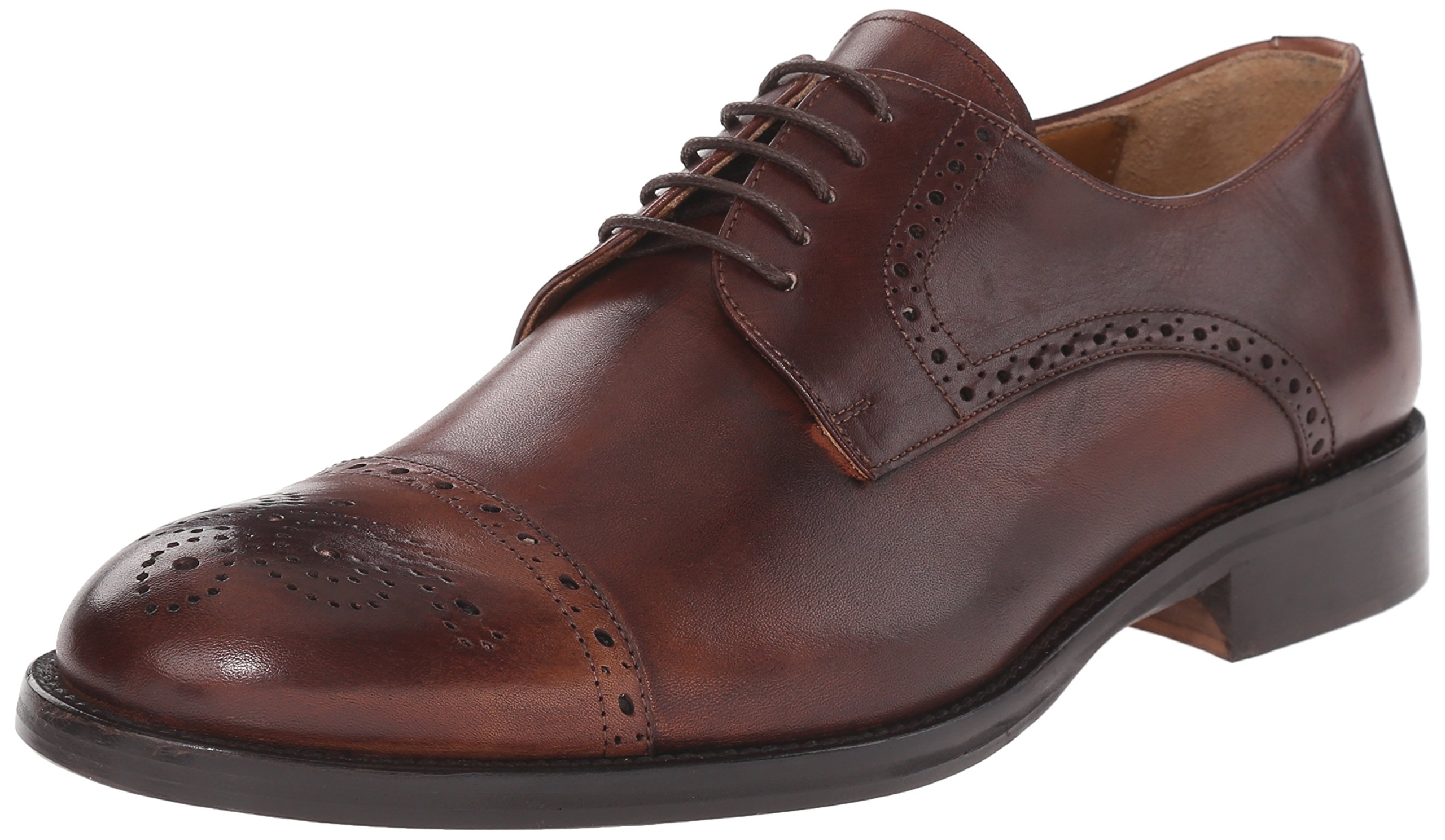 Kenneth Cole New York Men's Travel Agent Oxford, Brown, 7 M US