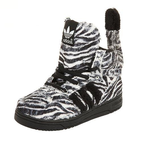 4af1a8096d1d adidas Jeremy Scott Zebra UK 7.5  Amazon.co.uk  Shoes   Bags