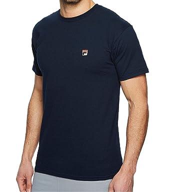 c1785b08bc0 Amazon.com: FILA Men's F Box Logo Short Sleeve T-Shirt: Clothing