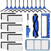 Replacement Parts Accessories Kit for Eufy RoboVac 11S, RoboVac 15C, RoboVac 30, RoboVac 30C, RoboVac 12, RoboVac 35C Vacuum Filters, 10 Side Brushes, 8 Filter, 1 Pre Filter, 1 Roller Brush Guard