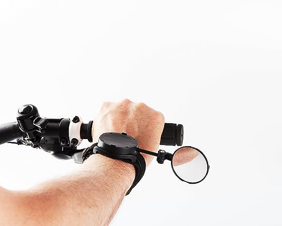 Espejo retrovisor para bicicleta Myklops (negro): Amazon.es: Deportes y aire libre