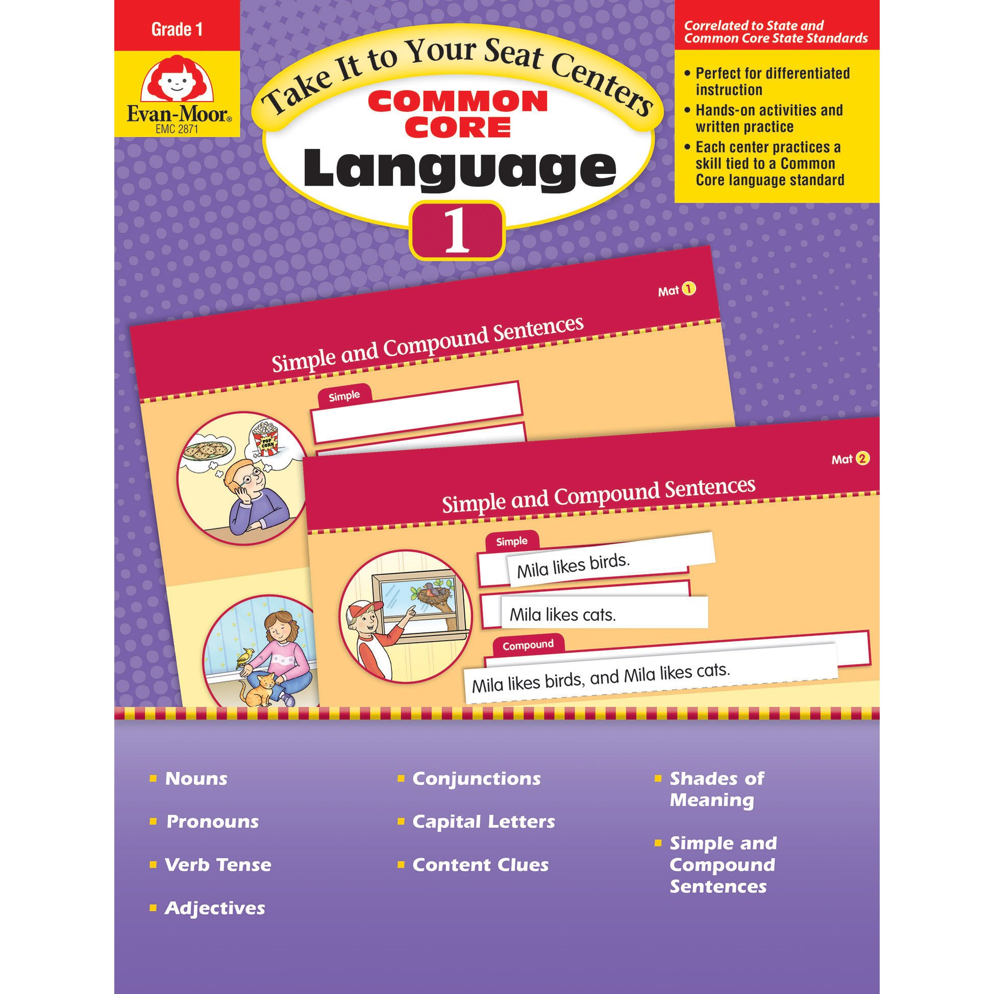 Take It To Your Seat: Language Centers, Grade 1