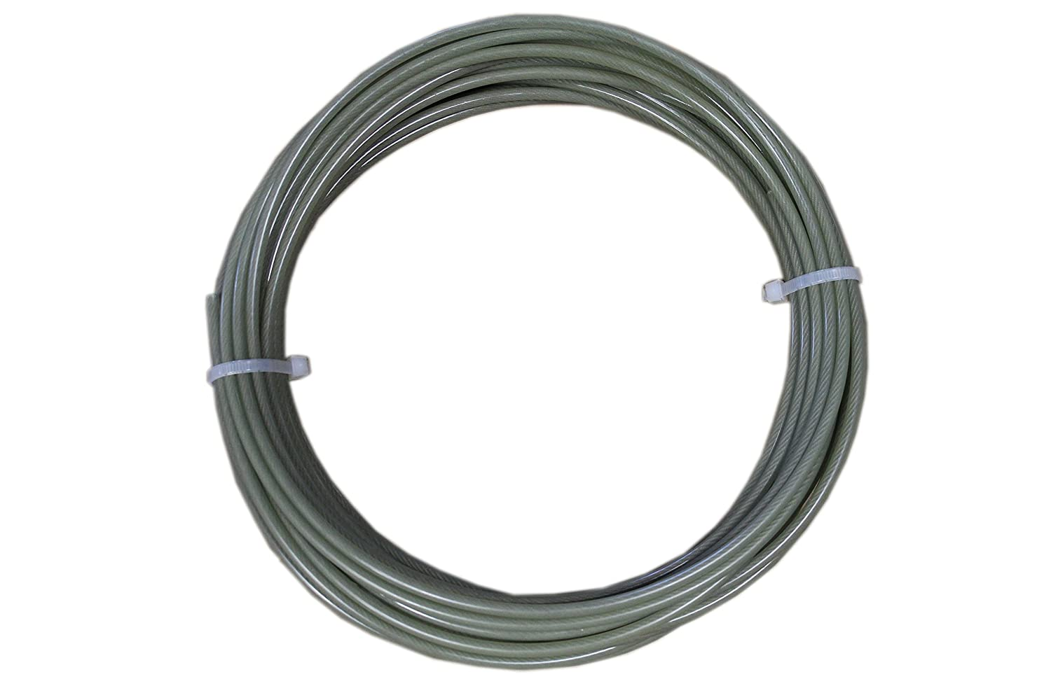 4-38SC100LH x 100 ft. B//A PRODUCTS CO Winch Cable,Steel,3//8 In