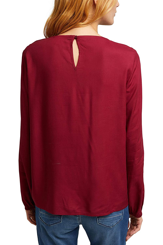 ESPRIT dam blus 600/Bordeaux röd