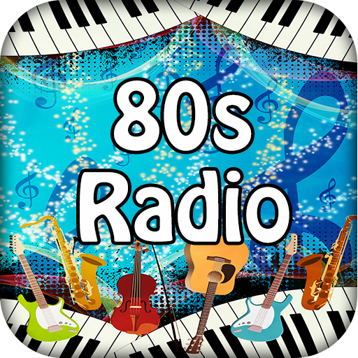 80S Music Radio Free (Refresh Icon)