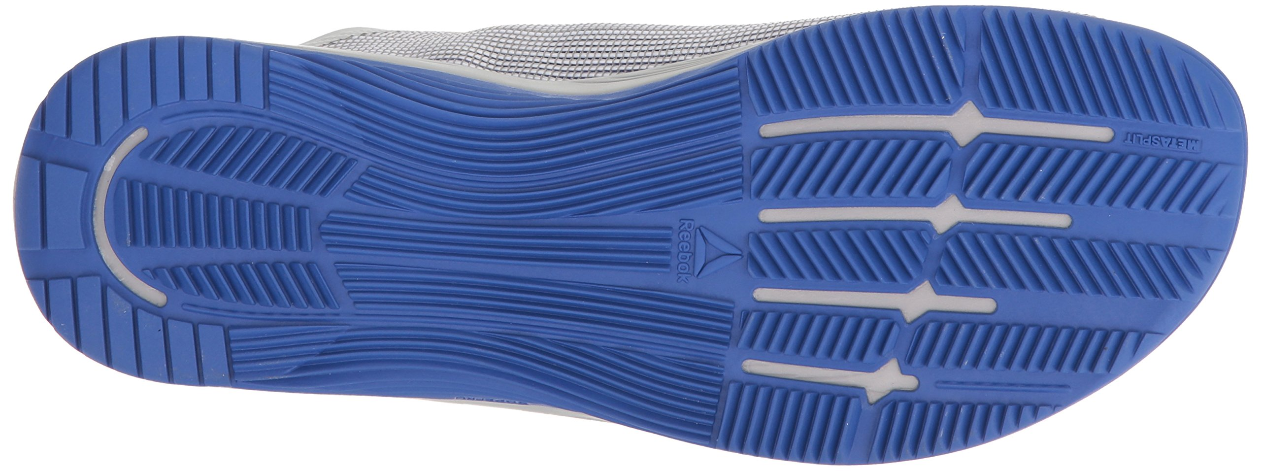 Reebok Men's CROSSFIT Nano 8.0 Sneaker, White/Stark Grey/Skull GR, 6.5 M US by Reebok (Image #3)