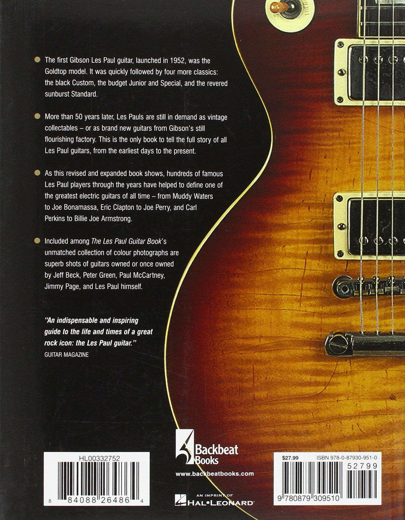 the les paul guitar book a plete history of gibson les paul