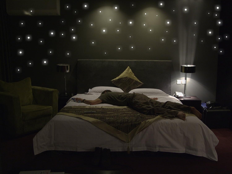 Amazon.de: 265 Wandsticker / Leuchtpunkte fluoreszierend und im ...