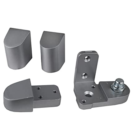 Global Door Controls Aluminum US Alum Style Left Hand Offset Pivot