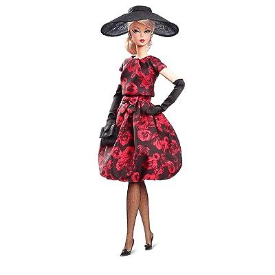 Barbie Collector, Muñeca Elegant Rose Cocktail (Mattel FJH77): Juguetes y juegos