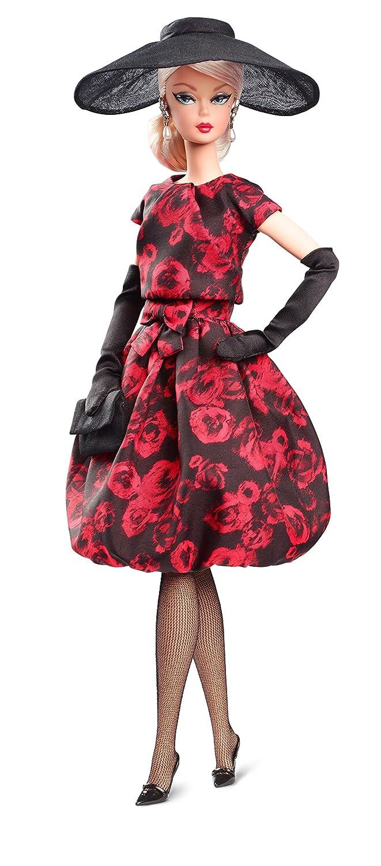 Mattel Barbie FJH77 - Barbie Signature Fashion Model Kollektion Elegant Rosa Cocktail Dress Barbie
