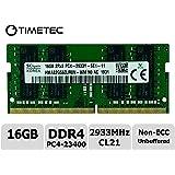 Timetec Hynix Original 16GB DDR4 2933MHz PC4-23400 Unbuffered Non-ECC 1.2V CL21 2Rx8 Dual Rank 260 Pin SODIMM Laptop…