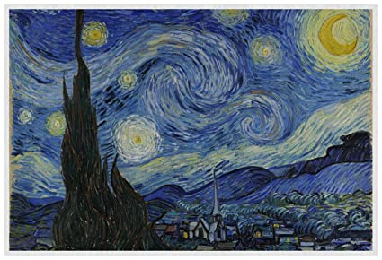 Amazon Com The Starry Night Van Gogh 1889 Placemat