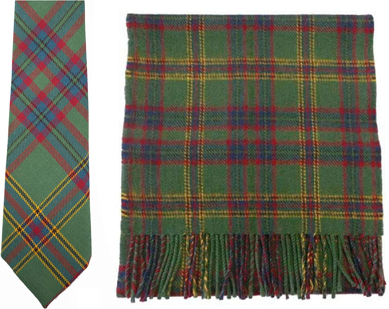 Campbell of Argyle Modern Tartan Wool Necktie USA Kilts