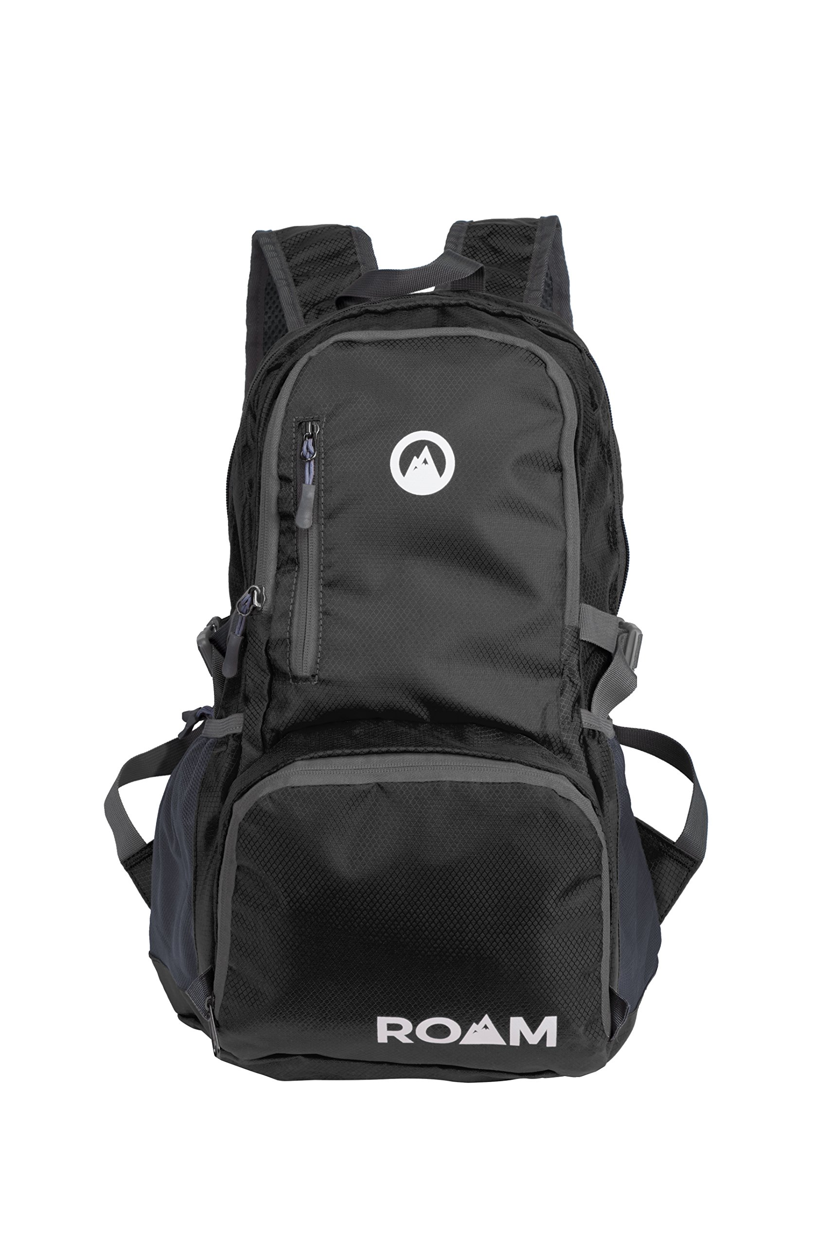 Roam Packable Backpack – Lightweight Foldable Daypack Water-Resistant, 25L, – Durable Tear-Resistant Nylon Weave – Daypack for Travel, Hiking, Backpacking, Camping, Mountaineering, Beach, Outdoors by Roam (Image #8)