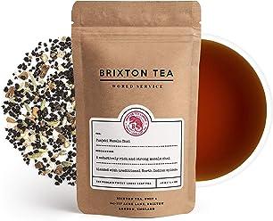 Brixton Tea ® Punjabi Masala Chai Latte, Fresh, Indian Spiced, Loose Leaf Tea, 100g