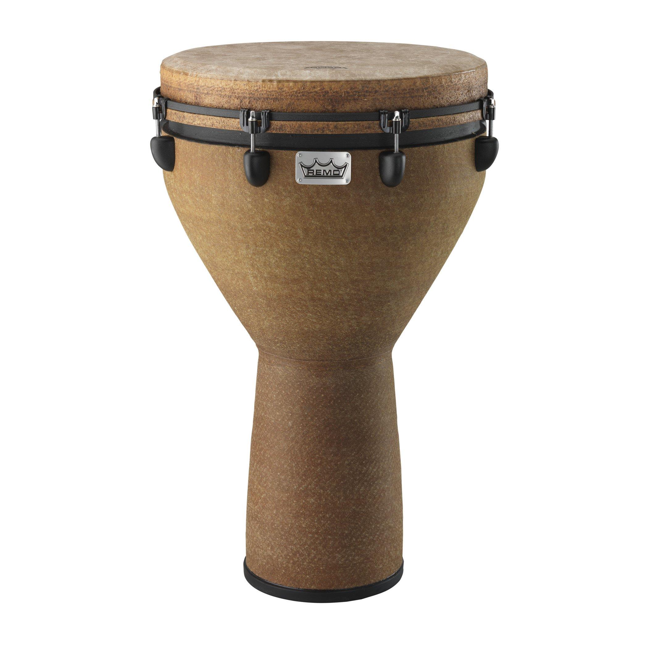Remo DJ-0016-05 Mondo Djembe Drum - Earth, 16''