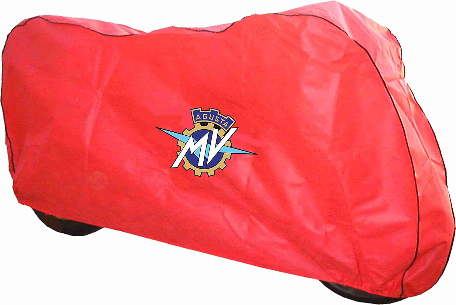 Breathable indoor Motorcycle cover Red to fit MV Agusta Brutale by DustOff! DustOff Covers