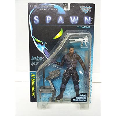SPAWN AL SIMMONS ACTION FIGURE MCFARLANE: Toys & Games