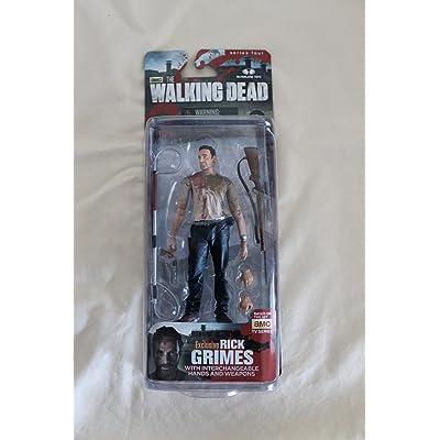 Walking Dead Rick Grimes Series 4 Action Figure: Toys & Games