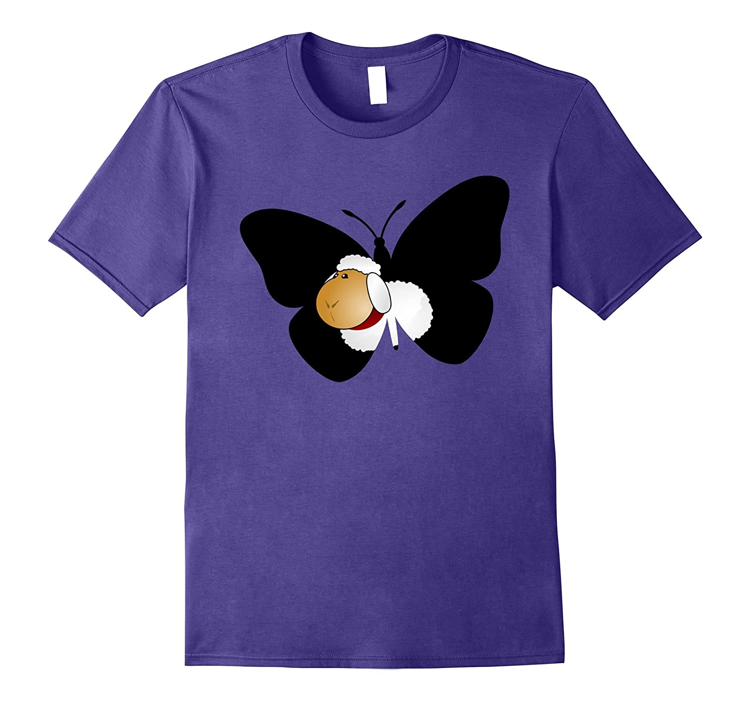 Butterfly sheep gift t shirt, Butter fly birthday uncle tees-FL