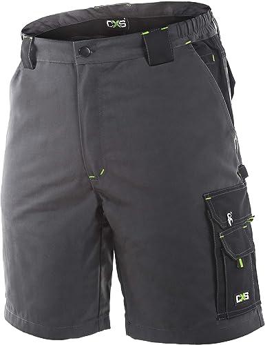 Imagen deSirius Pantalones de Trabajo Cortos/Bermudas para Hombre - para Verano - Gris
